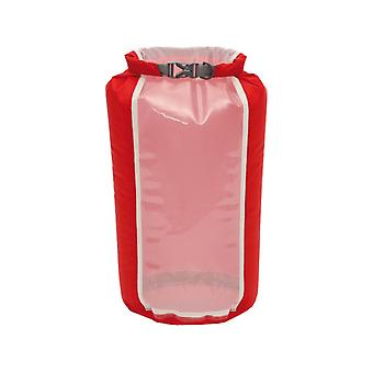 Exped Clear Sight Fold Drybag Red (8L)