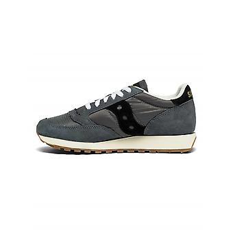 Saucony Saucony Grey & Black Jazz Original Vintage Sneaker