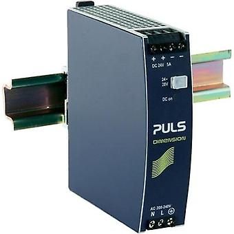 Rail mounted PSU (DIN) PULS DIMENSION CS5.244 24 Vdc 5 A 120 W 1 x