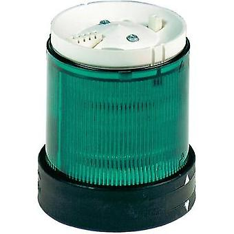 Signal tower component Schneider Electric XVBC2B3 Green