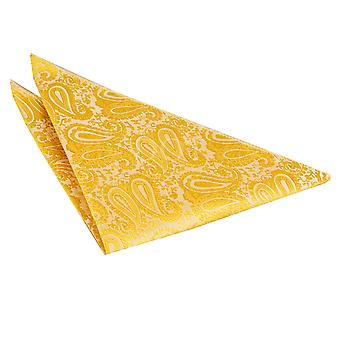 Paisley Gold Taschentuch / Pocket Square