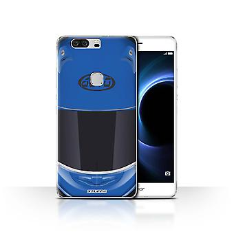 STUFF4 Case/Cover for Huawei Honor V8/Superbike/Blue/Motorcycle Helmet