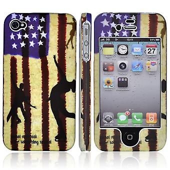 Cover banner USES Dancing, full, hard plastic, for iPhone 4/4s