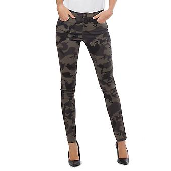 Esercito camuffamento Skinny Jeans Slim Stretch - Brown