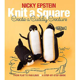 Nicky Epstein Books-Knit A Square Create A Cuddly Creature NEB-21666