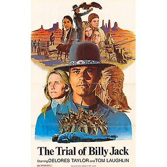 El juicio de Billy Jack Movie Poster (11 x 17)