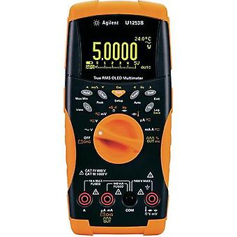 Handheld multimeter digital Keysight Technologies U1253B Calibrated to: Manufacturer standards Data logger, OLED display