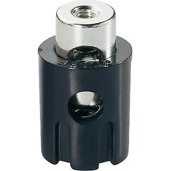 Spring-loaded terminal Black 15 A Cliff FCR681581 1 pc(s)