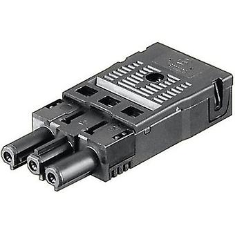 Receptacle [ Wieland GST18 receptacle - Open end] Black Wieland 92.733.0053.1