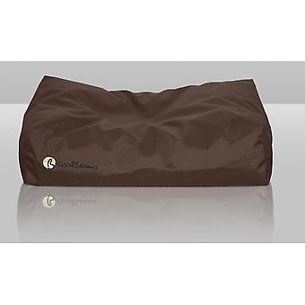 Coolbeans seng store chokolade 80x105x15cm