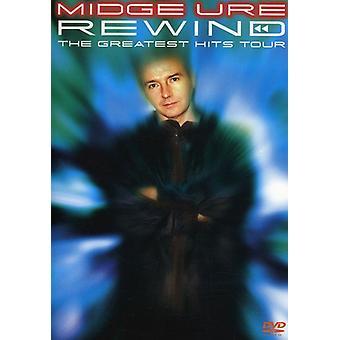 Midge Ure - Rewind-Greatest Hits Tour [DVD] USA import