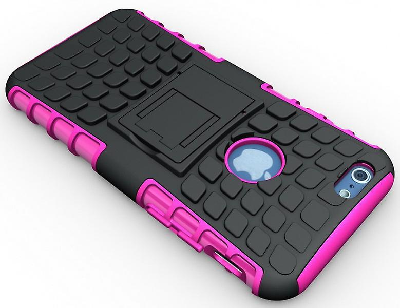 Hybrid case 2 piece robot Pink for Apple iPhone 6 plus 5.5
