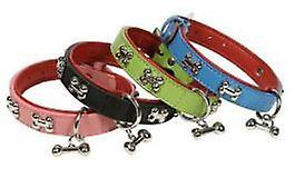 Doggy Things BONES COLLAR VERDE TALLA 70 CM/28  (Dogs , Walking Accessories , Collars)