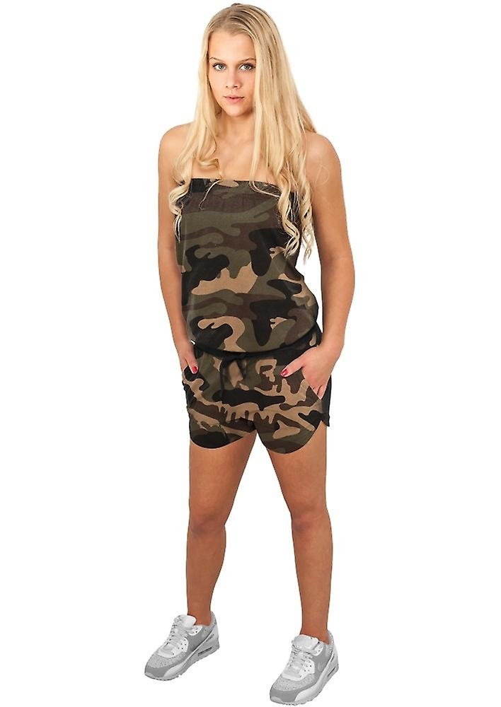 Urban Classics Ladies Hot Camo Jumpsuit
