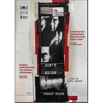 Ikke blinker: Robert Frank [DVD] USA importerer