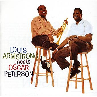 Louis Armstrong & Oscar Peterson - Louis Armstrong Meets Oscar Peterson [CD] USA import