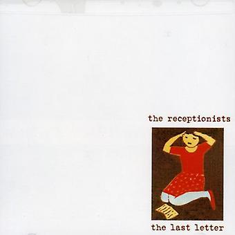 Receptionister - sidste brev [CD] USA importerer
