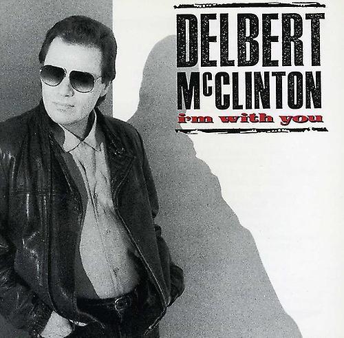 Delbert McClinton - jag är med dig [CD] USA import