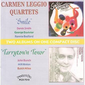 Carmen Leggio - smil/Tarrytown Tenor [CD] USA import