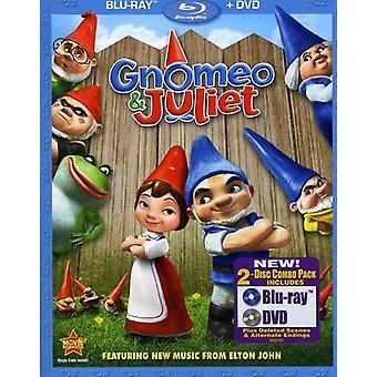 Gnomeo & Juliet - Gnomeo & Juliet [2 Discs] [Blu-ray/Dvd] [BLU-RAY] USA import