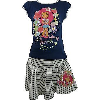 Piger CHARLOTTE aux øje jordbær Marie T-Shirt & nederdel Se