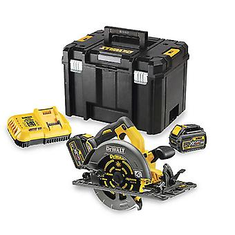 DeWALT DCS576T2-GB 54V Flexvolt Circular Saw (Fits rail)2x 6ah Batts