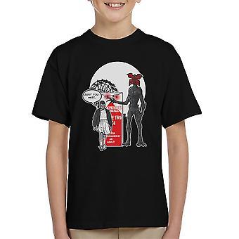 Stranger Ride Themepark ting børne T-Shirt
