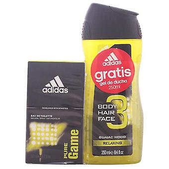 Adidas Cologne Vapo 50 Ml Pure Game + Shower Gel 250Ml (Man , Perfumes , Perfumes)