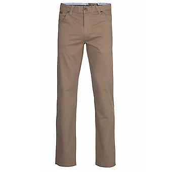 Wrangler Texas stretch pants men's trousers Brown W121-AP-178