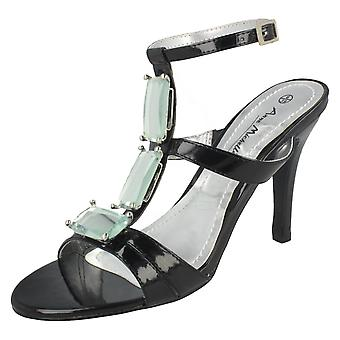 Ladies Anne Michelle Heeled Sandals L3870