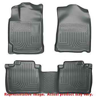 Husky Liners 98902 grå WeatherBeater Front & 2 sits passar: TOYOTA 2012-2014