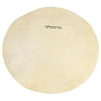 World Rhythm 9inch White Goat Skin for Djembe Drum Head