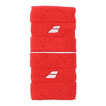 Babolat wristband 2 x red 5US16261-104