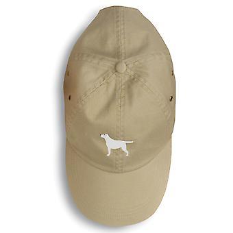 Yellow Labrador Retriever Embroidered Baseball Cap
