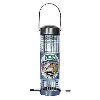 Supa Fort Knuts Stainless Steel Peanut Bird Feeder
