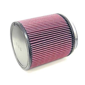 K&N RU-3260 Universal Clamp-On Air Filter: Round Straight; 6 in (152 mm) Flange ID; 8 in (203 mm) Height; 7.5 in (191 mm