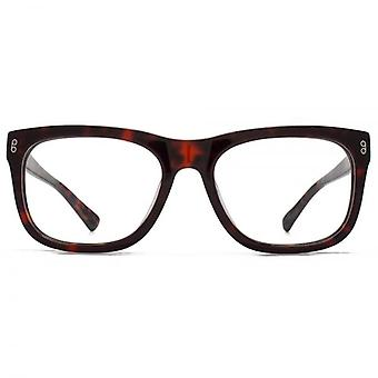 Hook LDN Bridgeman Chunky D-Frame Glasses In Black On Clear