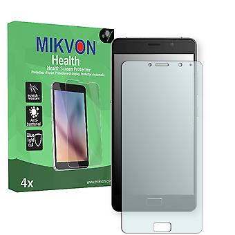 Lenovo P2 Screen Protector - Mikvon Health (Retail Package with accessories) (intentionally smaller than the display due to its curved surface)