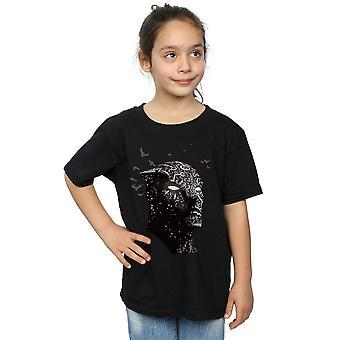 Marvel Girls Black Panther Crouching T-Shirt