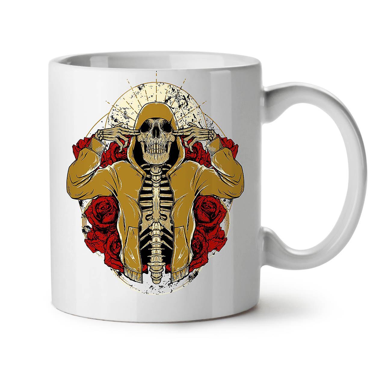 Rap Squelette Nouveau Café 11 Crâne Blanc Tasse Thé Céramique De OzWellcoda Rose dxeCoBrW