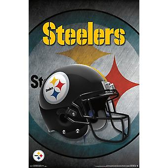 Pittsburgh Steelers - Helmet 16 Poster Print