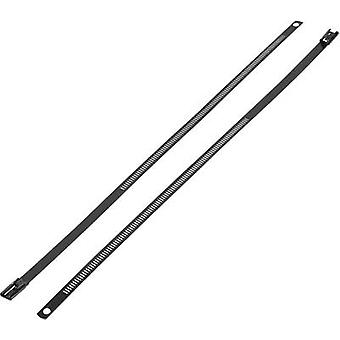 Cable tie 150 mm Black Coated KSS ASTN-150