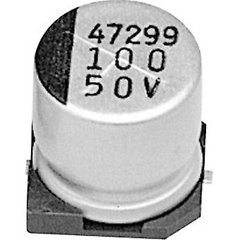 Electrolytic capacitor SMD 100 µF 6.3 V