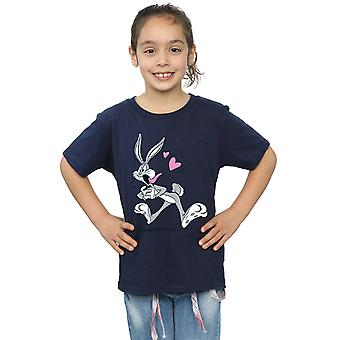 Looney Tunes Girls Bugs Bunny In Love T-Shirt