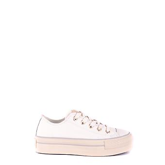 Converse women's MCBI077014O White leather of sneakers