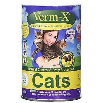Verm-X Cat Treats Premium Crunchies 60g