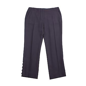 Miu Miu Women's Trouser Pants Navy Blue