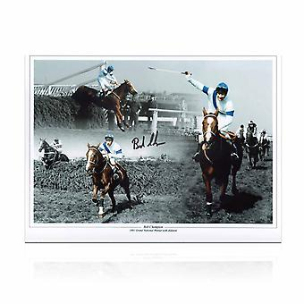 Signed Bob Champion Grand National Photo: Aldaniti