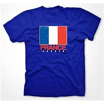 Frankreich Fußball-T-Shirt (royal)