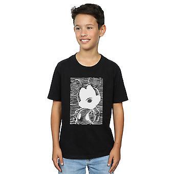 Disney Boys Mickey Mouse Lines T-Shirt